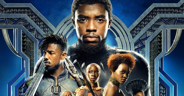 Poster final du film Black Panther