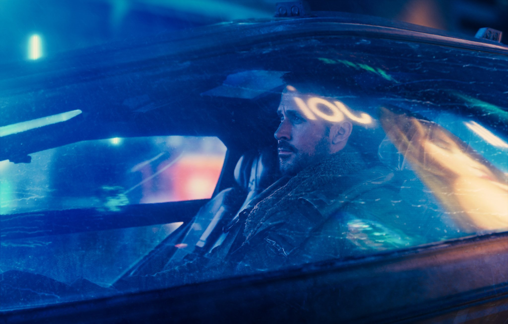 Photo du film Blade Runner 2049 avec K (Ryan Gosling)