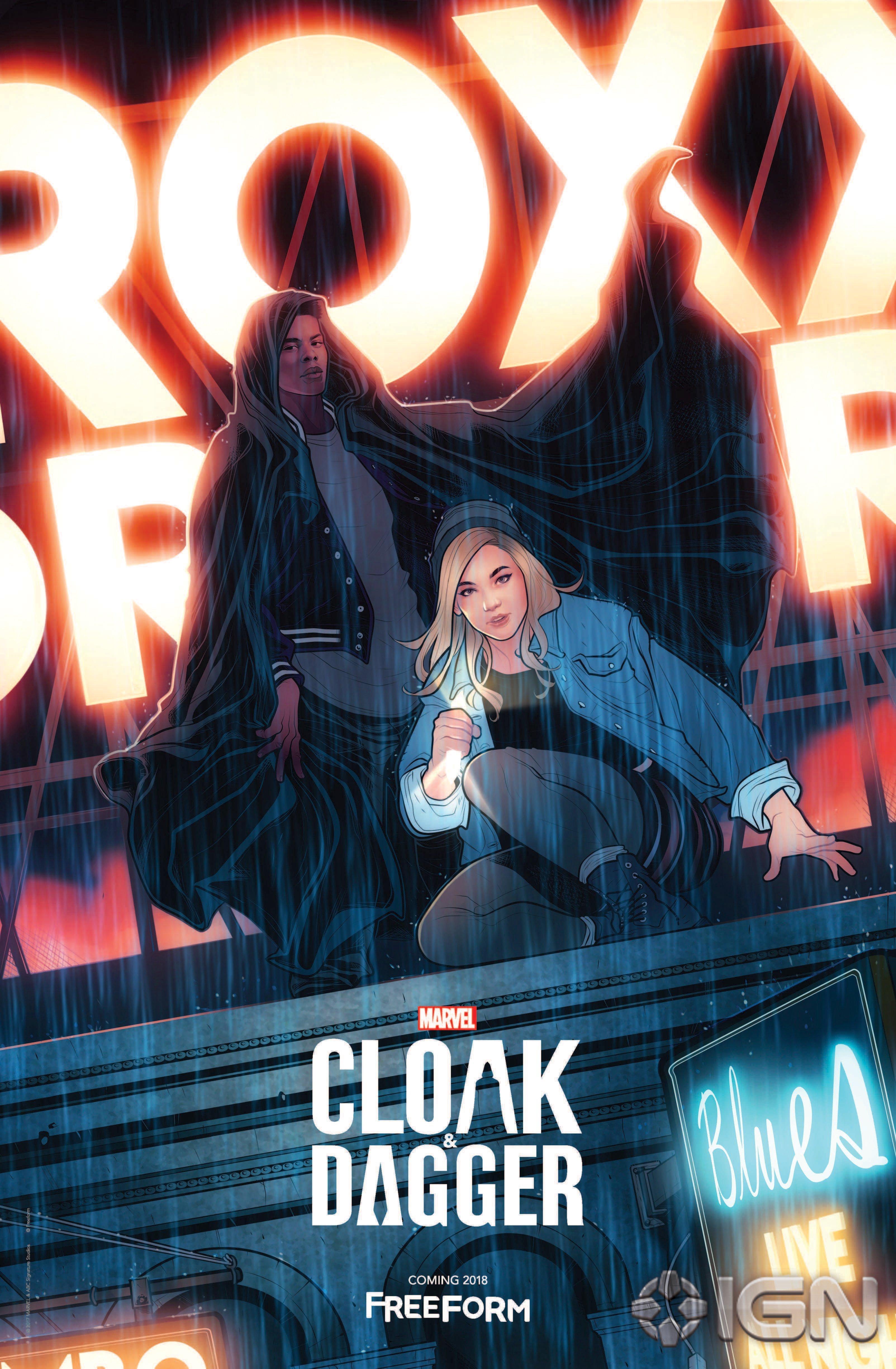 Poster de la saison 1 de Cloak & Dagger pour la Comic-Con de New York de 2017