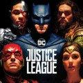 Affiche française du film Justice League avec Wonder Woman, Cyborg, Batman, Aquaman et Flash
