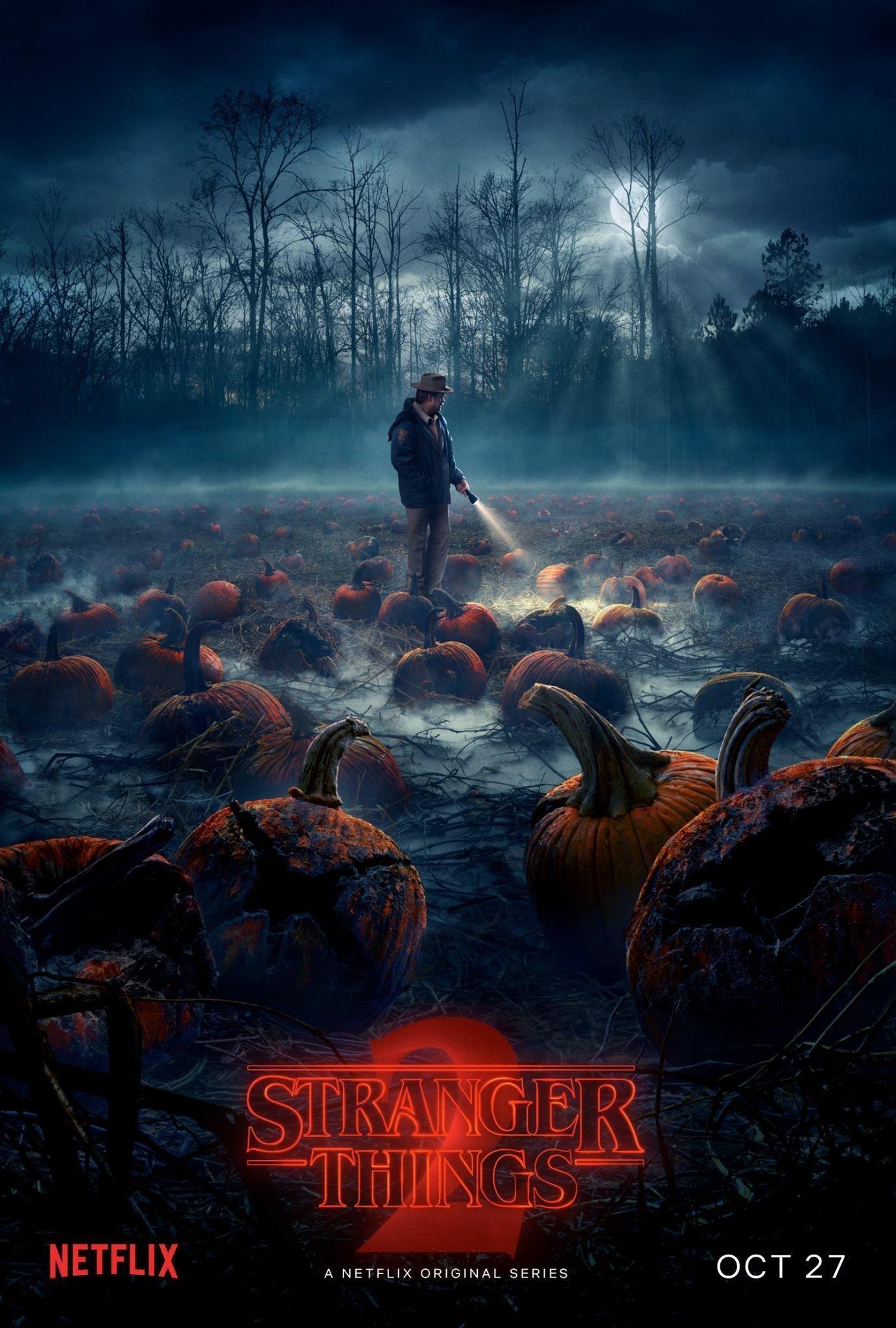 Poster de Stranger Things 2 avec Jim Hopper