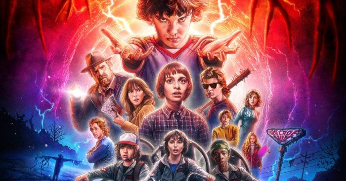 Poster officiel de Stranger Things 2