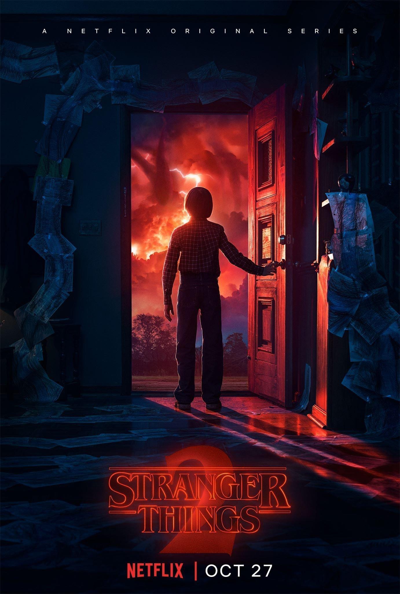 Poster de Stranger Things 2 avec Will Byers
