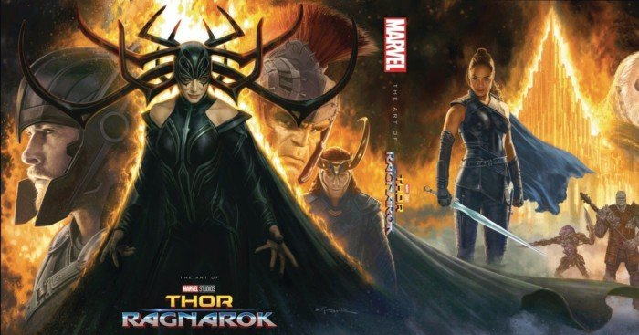 Couverture du livre The Art of Thor: Ragnarok