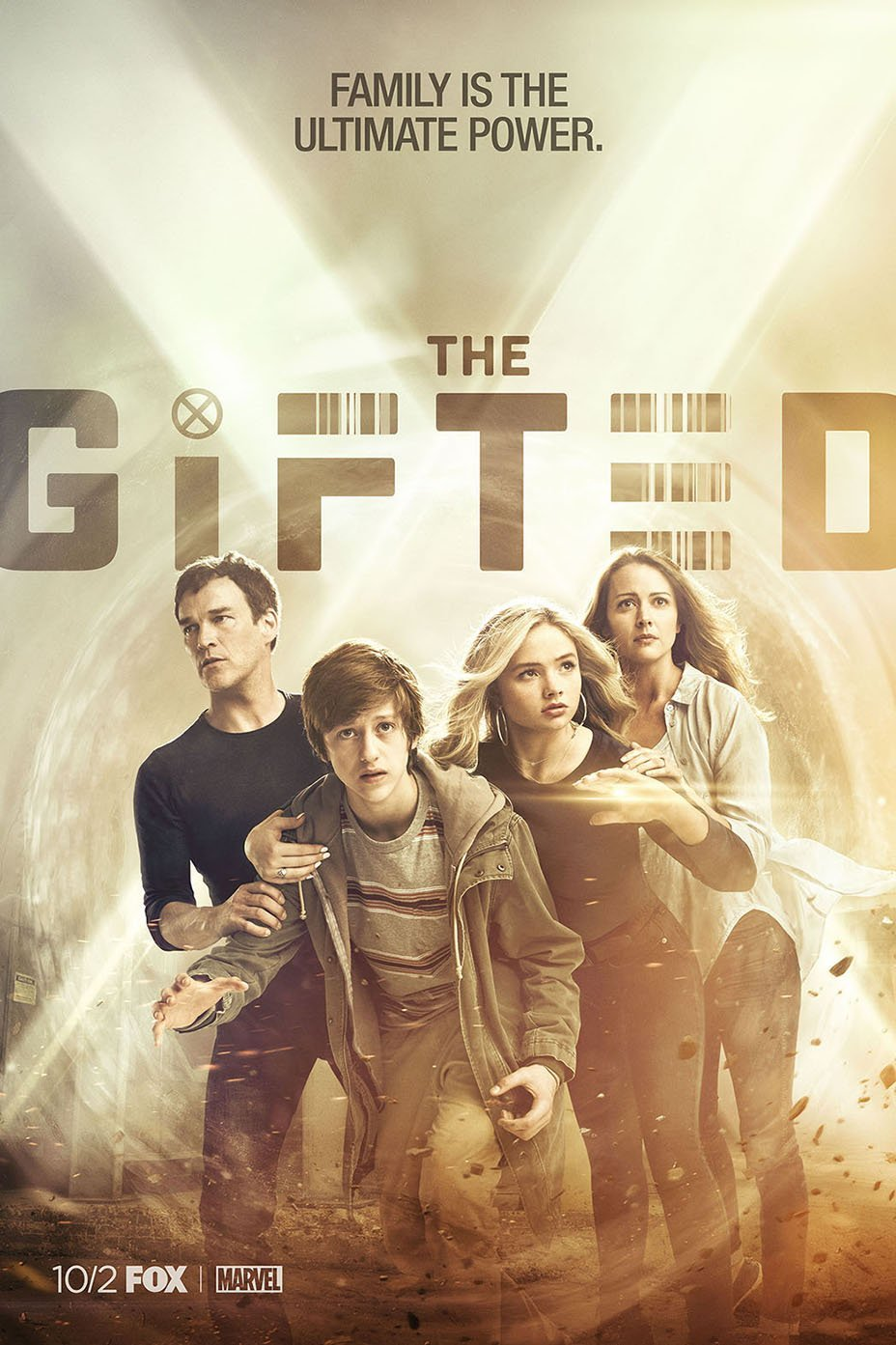 Poster de la série de Marvel Television, The Gifted