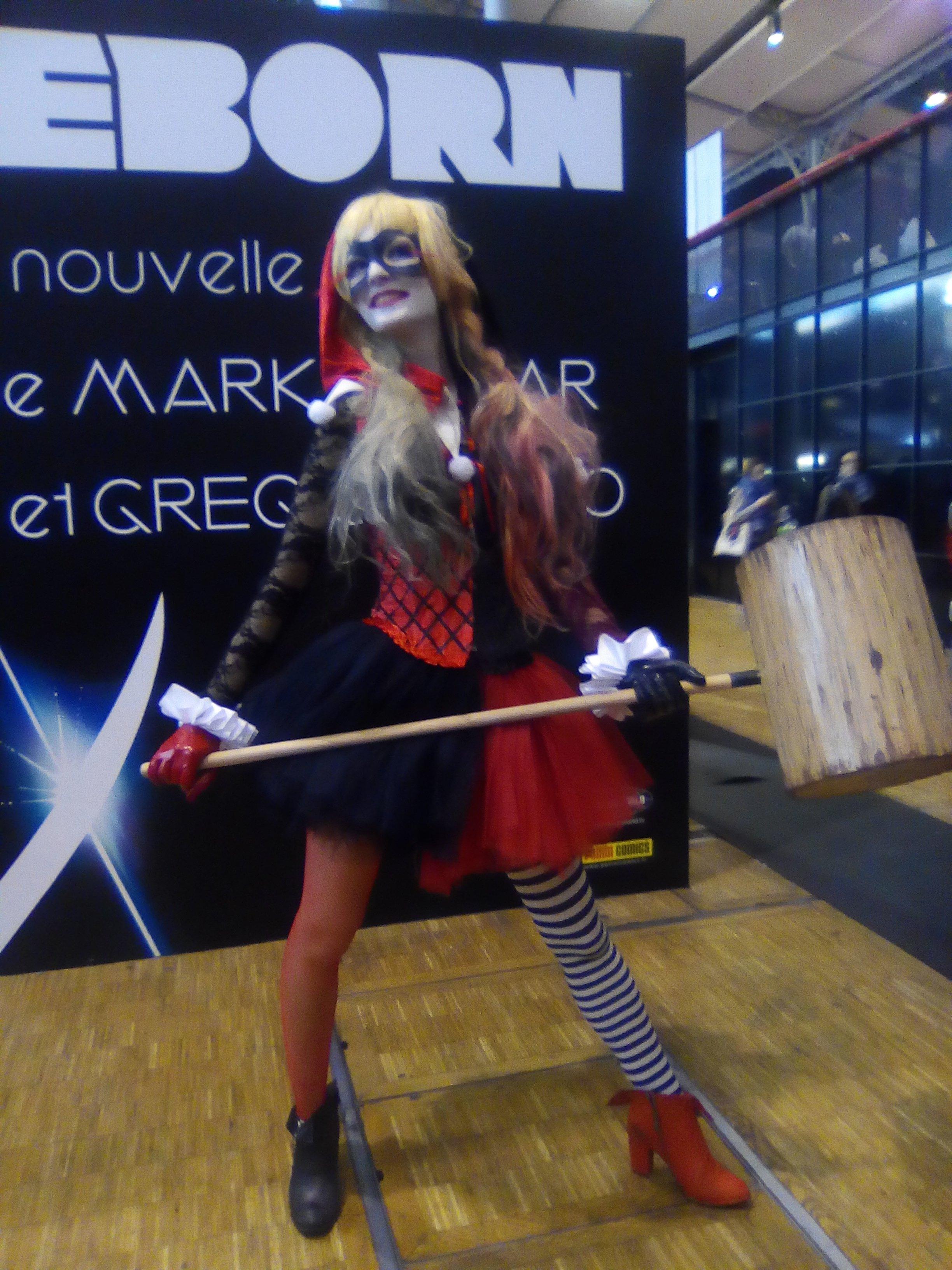 Harley Cosplayer