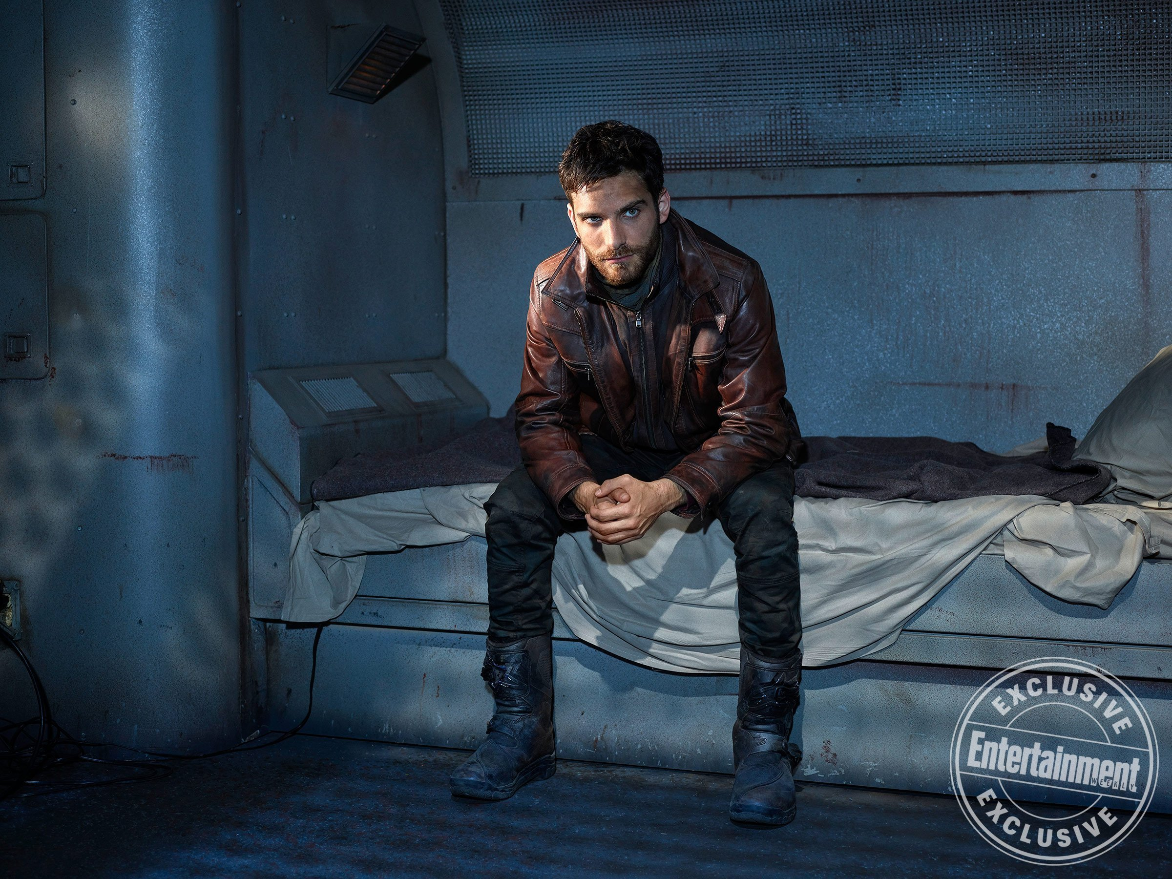 Photo de la saison 5 d'Agents of SHIELD avec Deke (Jeff Ward)