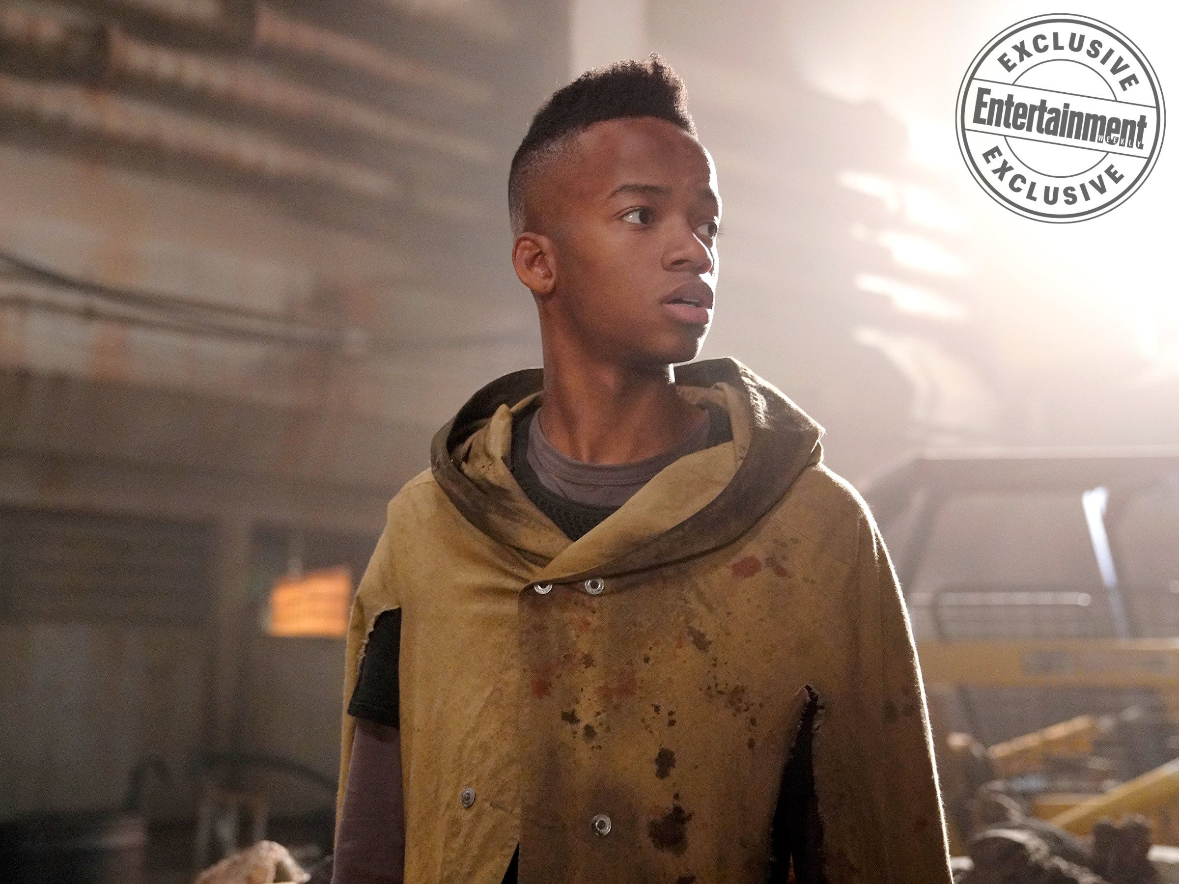 Photo de la saison 5 d'Agents of SHIELD avec Flint (Coy Stewart)