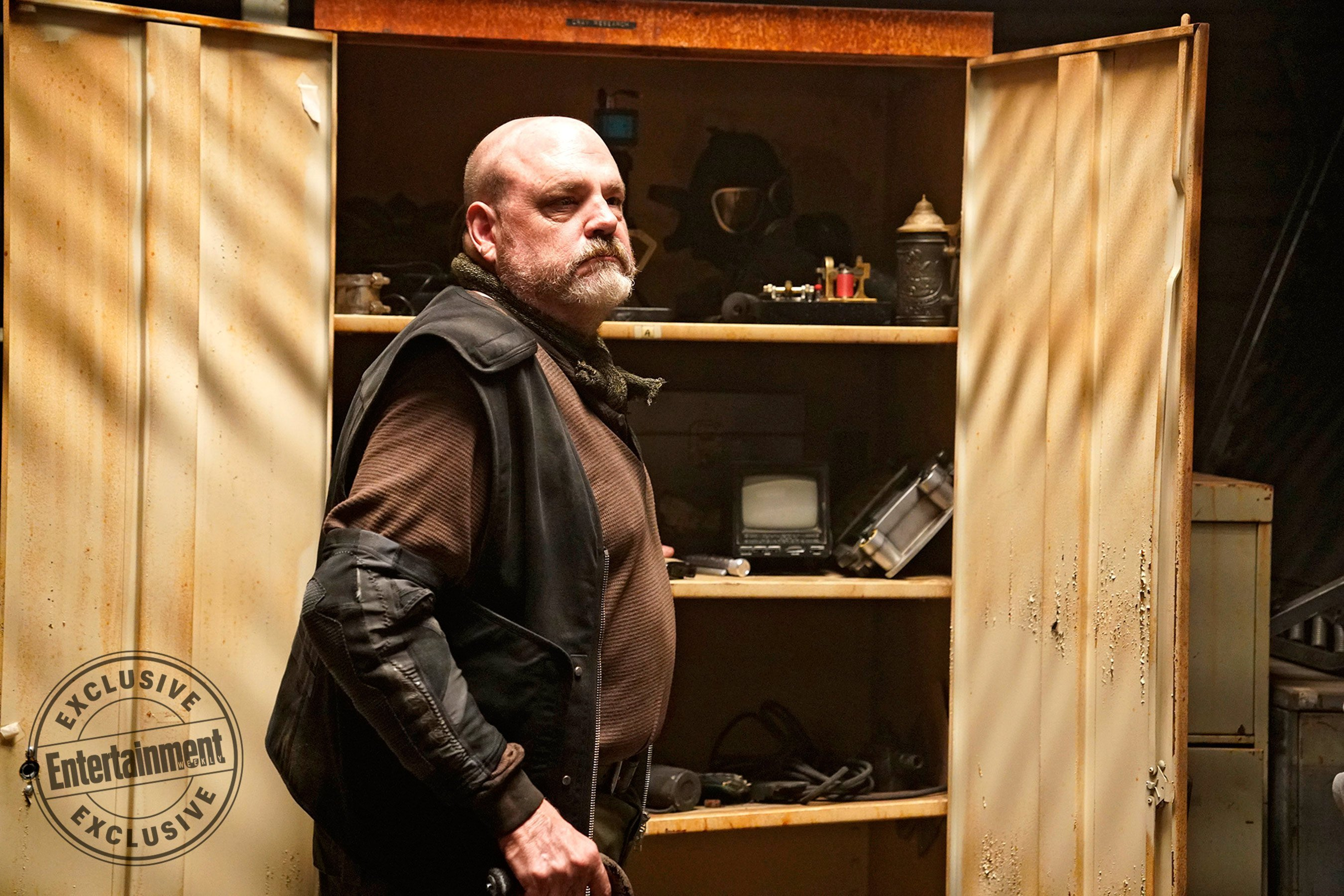 Photo de la saison 5 d'Agents of SHIELD avec Grill (Pruitt Taylor Vince)