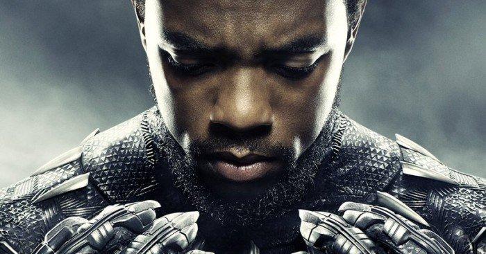 Poster du film Black Panther avec Chadwick Boseman (T'Challa)