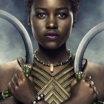 Poster du film Black Panther avec Lupita Nyong'o (Nakia)