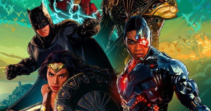 Poster Dolby Cinema pour le film Justice League