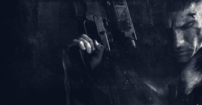 Photo stylée de la saison 1 de la série The Punisher