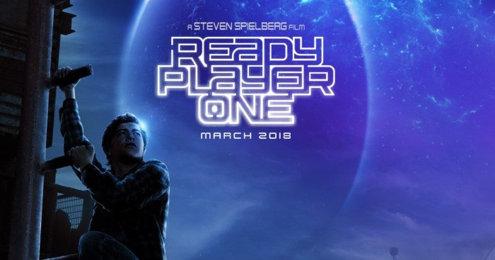Poster du film Ready Player One avec un easter egg