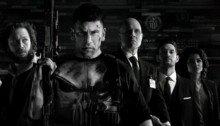 Bannière de la première saison de The Punisher avec le casting principal