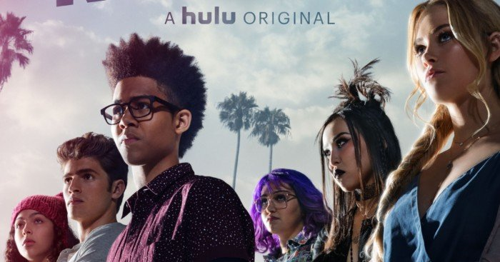Poster officiel de la saison 1 de Runaways avec les Fugitifs