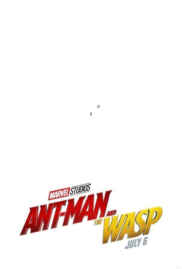 Poster teaser du film Ant-Man et la Guêpe réalisé par Peyton Reed