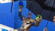 Photo du gâteau pour la fin du tournage d'Avengers 4