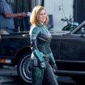 Première photo du tournage avec Captain Marvel (Brie Larson) en costume vert