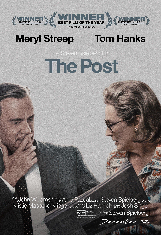 Poster du film Pentagon Papers réalisé par Steven Spielberg avec Meryl Streep et Tom Hanks