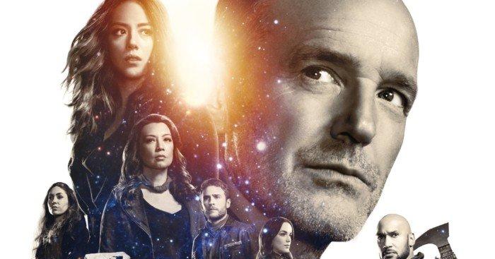 Poster de la première partie de la saison 5 d'Agents of SHIELD