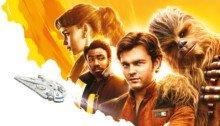 Promo Art russe du film Solo: A Star Wars Story présentant le casting