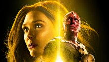 Affiche du film Avengers: Infinity War avec l'équipe jaune