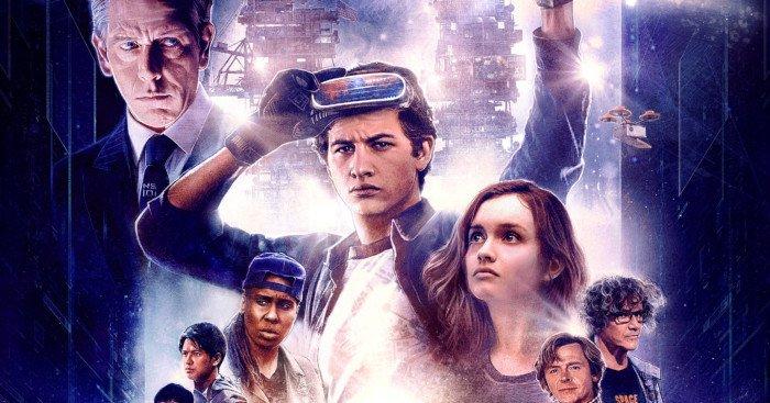 Affiche française du film Ready Player One réalisé par Steven Spielberg