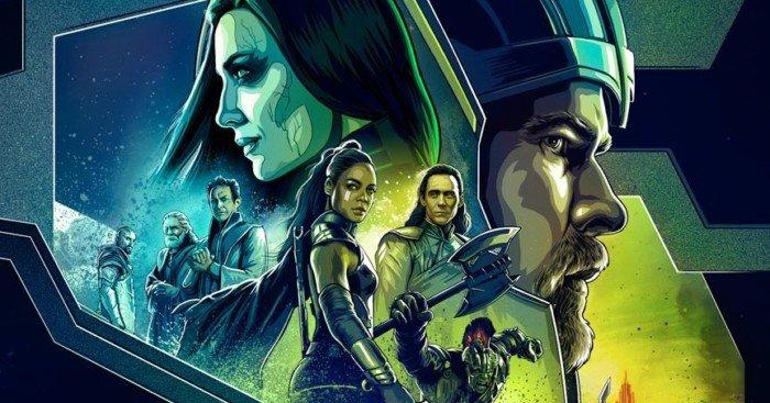 Poster Dolby du film Thor: Ragnarok réalisé par Taika Waititi