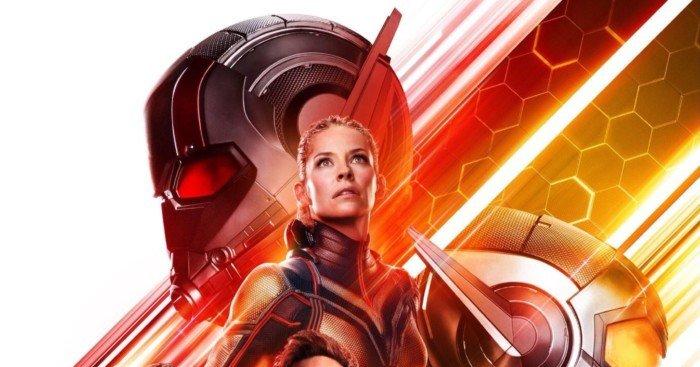 Poster officiel du film Ant-Man et la Guêpe avec le casting