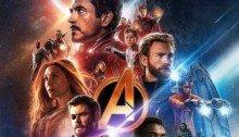 Poster Dolby sans texte du film Avengers: Infinity War