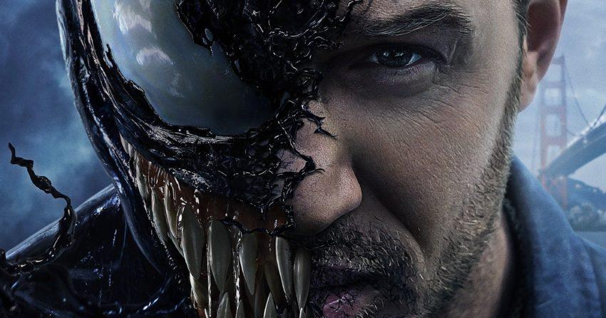 Poster du film Venom réalisé par Ruben Fleischer avec Tom Hardy et le symbiote