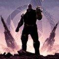 Troisième partie du poster du film Avengers: Infinity War par Matt Ferguson