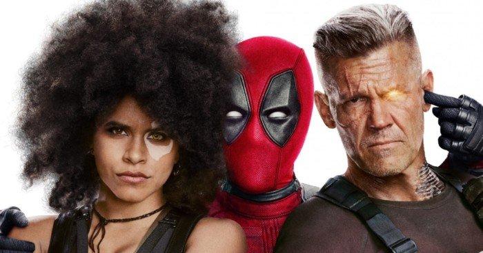 """Affiche définitive du film Deadpool 2 avec la tagline """"À plusieurs, c'est encore meilleur !"""""""