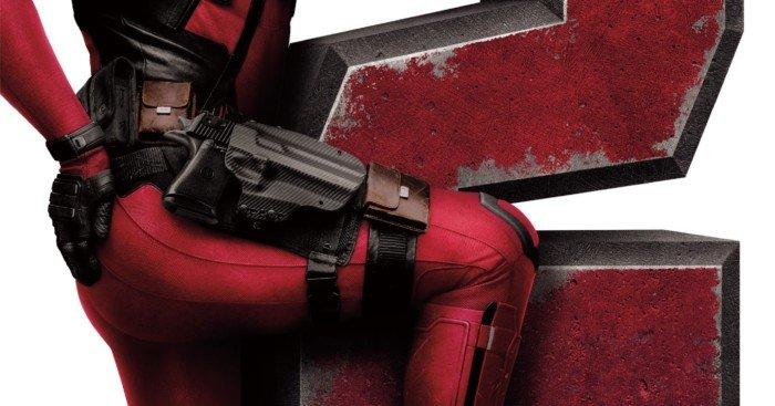 Affiche du film Deadpool 2 avec la tagline On n'oublie jamais sa deuxième fois