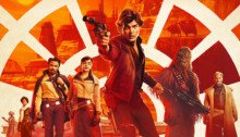 Affiche officielle du film Solo: A Star Wars Story