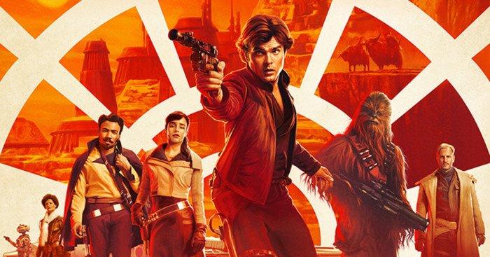 Affiche officielle du film Solo: A Star Wars Story