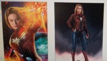 Concept art du film Avengers 4 réalisé par Anthony et Joe Russo ayant leaké avec Captain Marvel pour la promotion