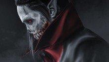 Image de l'acteur Jared Leto dans le rôle de Morbius, un ennemi de Spider-Man, par BossLogic