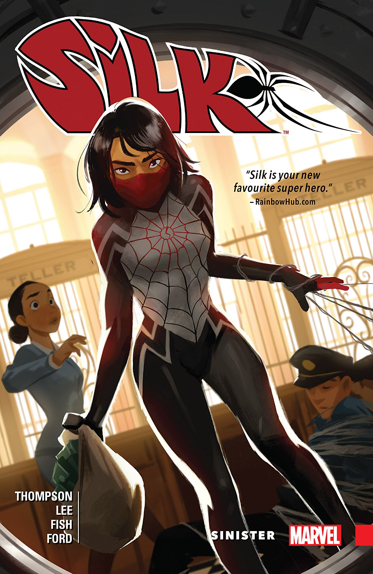 Couverture du comic Marvel Silk par Thompson, Lee et Fish