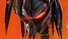 "Poster du film The Predator (2018) réalisé par Shane Black avec la tagline ""The hunt has evolved"""