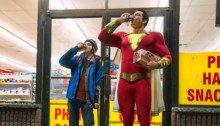 Première photo officielle du film Shazam! réalisé par David F. Sandberg avec Jack Dylan Grazer et Zachary Levi (Shazam)