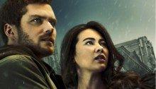 Poster de la deuxième saison de la série Marvel Iron Fist avec Danny Rand (Finn Jones) et Colleen Wing (Jessica Henwick)