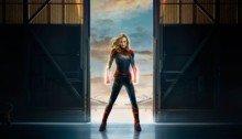 Poster teaser du film Captain Marvel avec Brie Larson