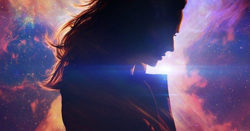 Poster teaser du film X-Men: Dark Phoenix écrit et réalisé par Simon Kinberg avec Jean Grey (Sophie Turner)