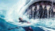 Affiche française du film En eaux troubles réalisé par Jon Turteltaub avec Jason Statham