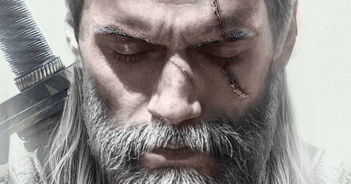 Poster par BossLogic pour la série Netflix, The Witcher, avec Henry Cavill en tant que Geralt de Riv