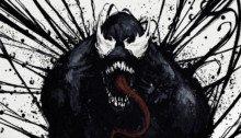Deuxième poster de fan pour le film Venom réalisé par Ruben Fleischer