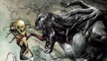 Poster spécial finale de la coupe du monde 2018 pour le film Venom réalisé par Ruben Fleischer