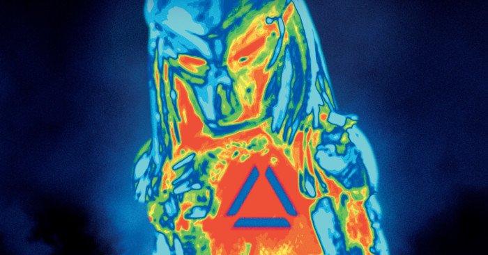 Affiche française du film The Predator réalisé par Shane Black avec Boyd Holbrook, Trevante Rhodes, Jacob Tremblay, Keegan-Michael Key, Olivia Munn, Thomas Jane, Alfie Allen et Sterling K. Brown